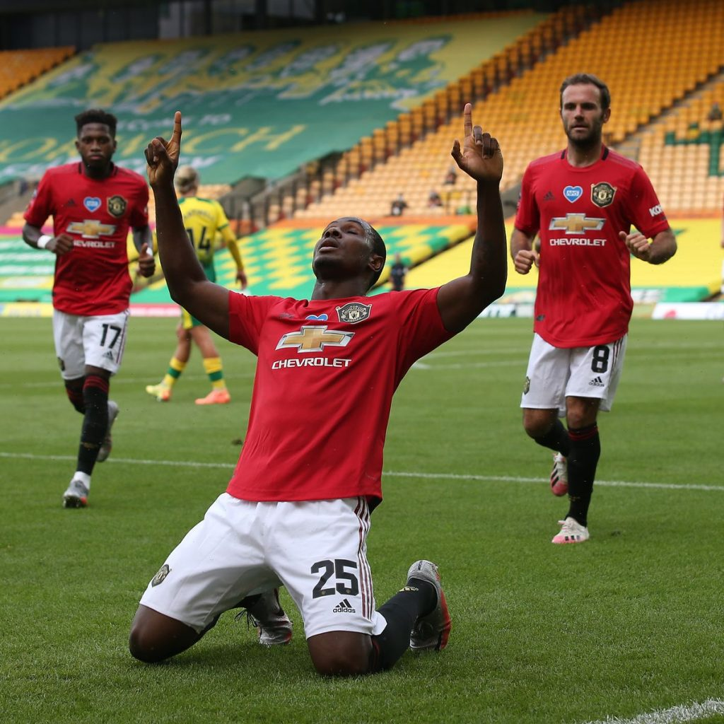 Manchester United Lawan Norwich