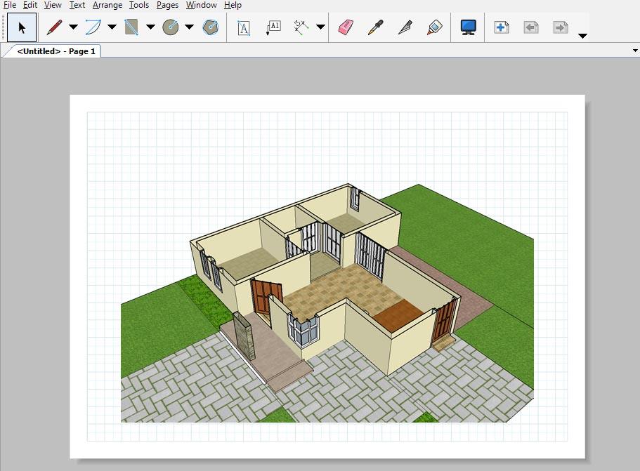 Cara Memasukan Model Sketchup Ke Layout 3