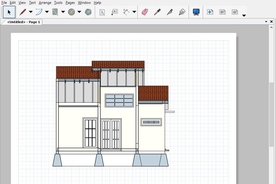 Cara Memasukan Model Sketchup Ke Layout 4