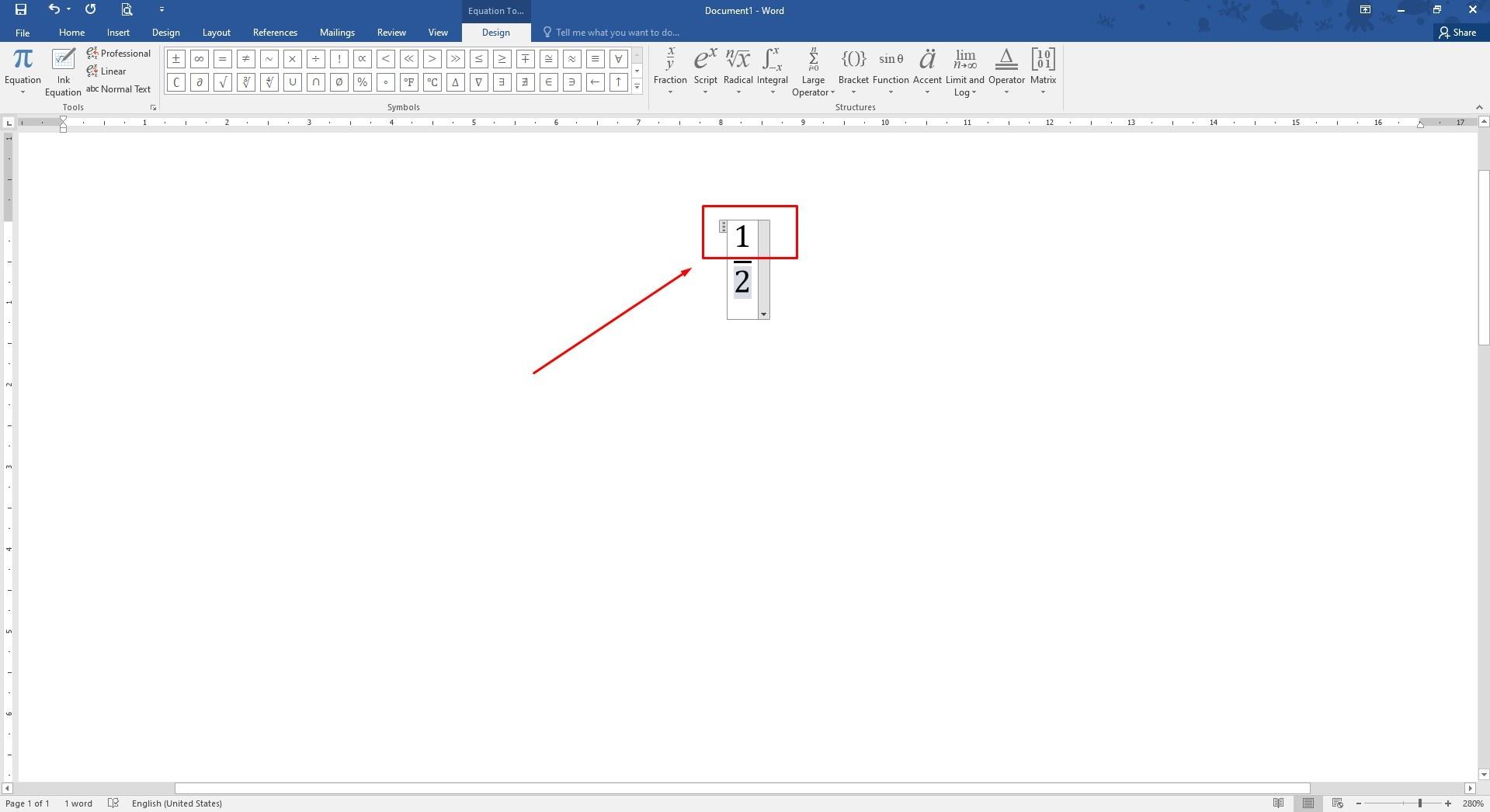 Cara Membuat Bilangan Pecahan di MS Word