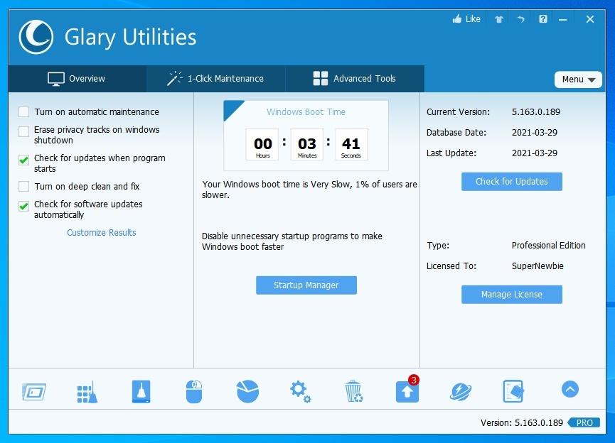 Download Glary Utilities Pro Full Version Terbaru 2021