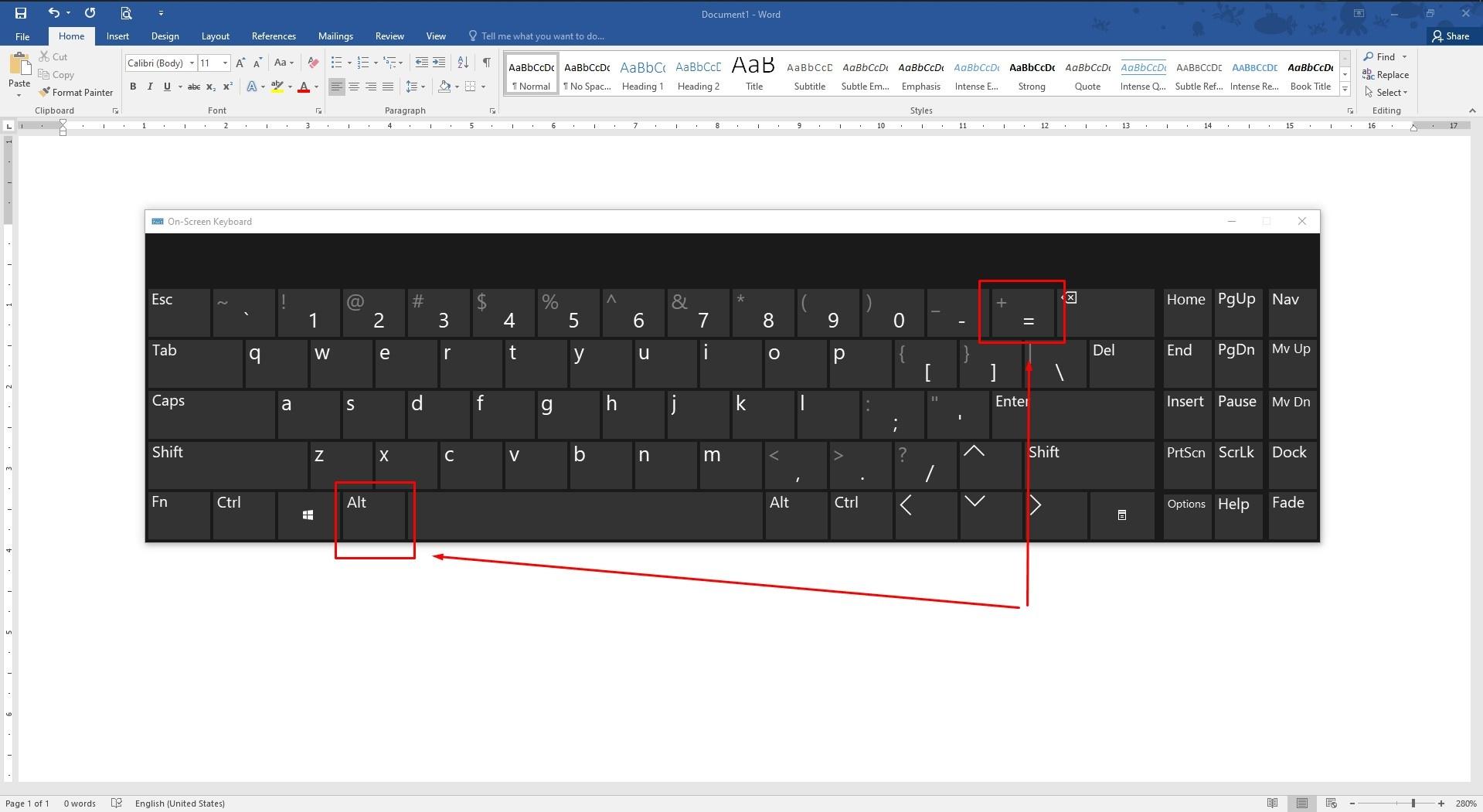 Cara Membuat Bilangan Pecahan di MS Word mengunakan Shortcut