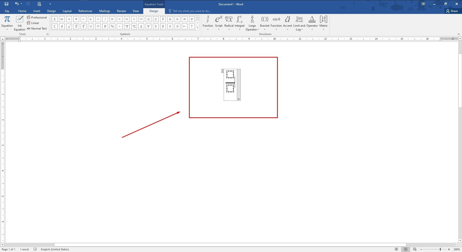 Cara Membuat Bilangan Pecahan di MS Word - Fraction