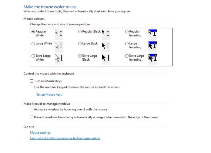 Cara Mengganti Kursor Windows 10