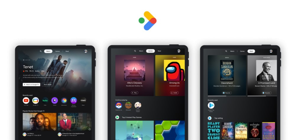 Google Meluncurkan Entertainment Space