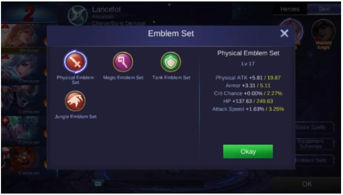 Mengenal Skills Hero Mobile Legend: Lancelot