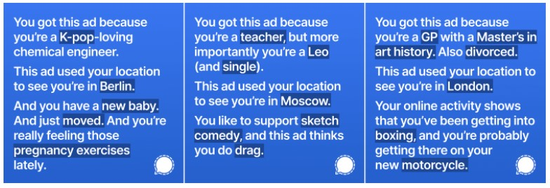 Iklan Signal Diblokir Facebook